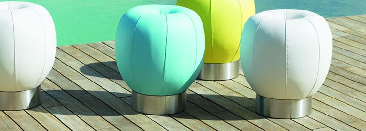 pouf d 39 ext rieur jardinchic. Black Bedroom Furniture Sets. Home Design Ideas