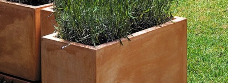 Jardini res terre cuite jardinchic - Jardiniere en terre cuite ...