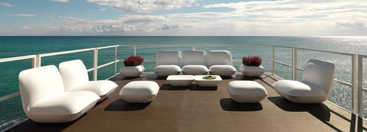 Vondom salon de jardin jardinchic for Marque mobilier de jardin