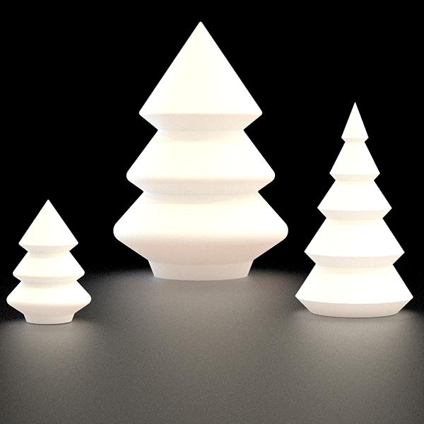 Sapin lumineux alba jardinchic - Sapin design lumineux ...
