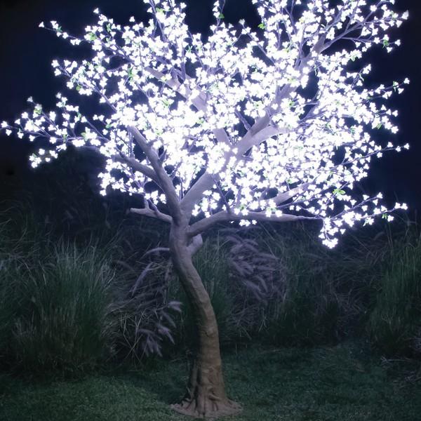 Arbre pommier lumineux jardinchic for Arbres lumineux exterieur