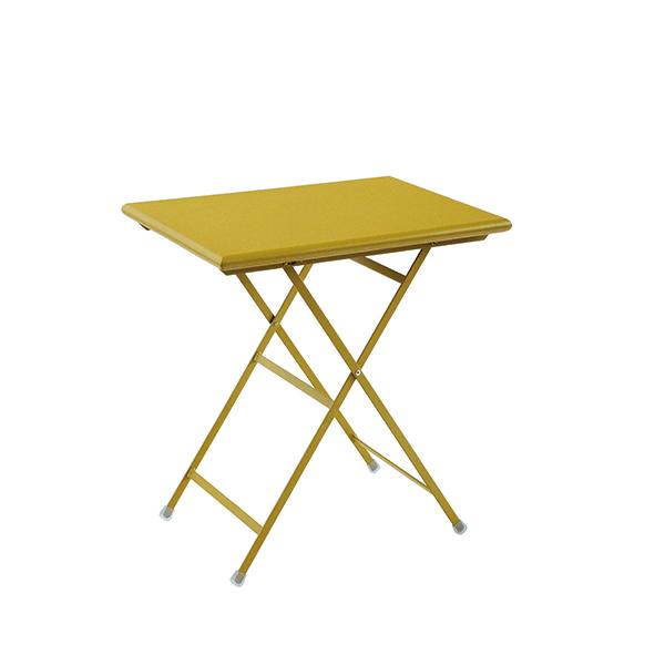 Table pliable arc en ciel jardinchic - Petite table pliable ...