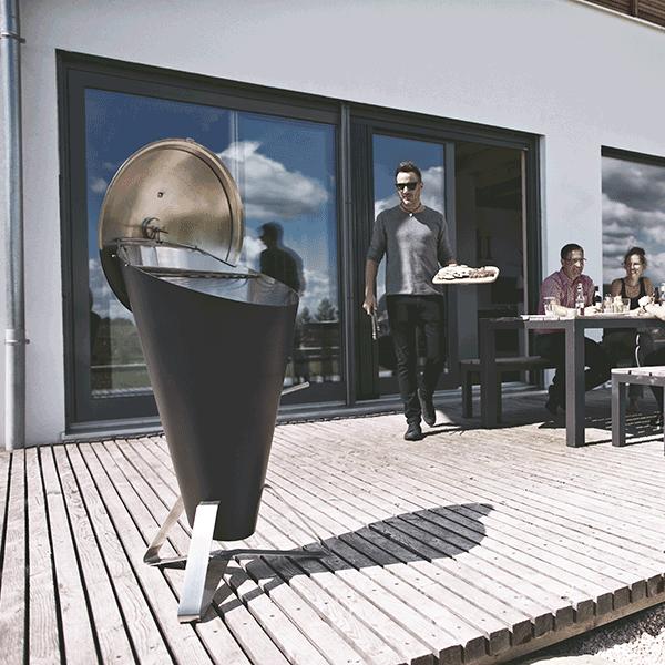 barbecue cone jardinchic. Black Bedroom Furniture Sets. Home Design Ideas
