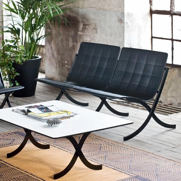 Double fauteuils barceloneta jardinchic for Serralunga furniture