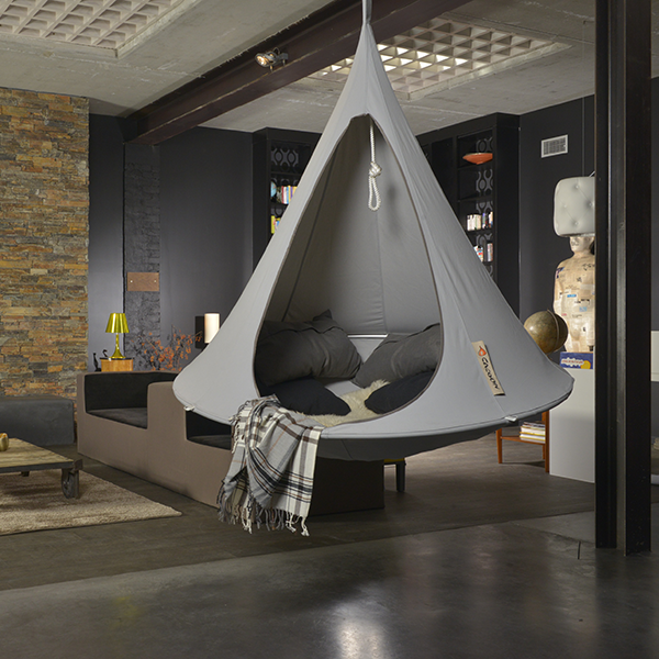 cacoon tente suspendue jardinchic. Black Bedroom Furniture Sets. Home Design Ideas