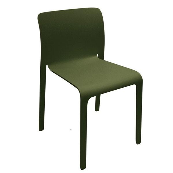 Lot de 4 chaises first jardinchic for Chaise kaki