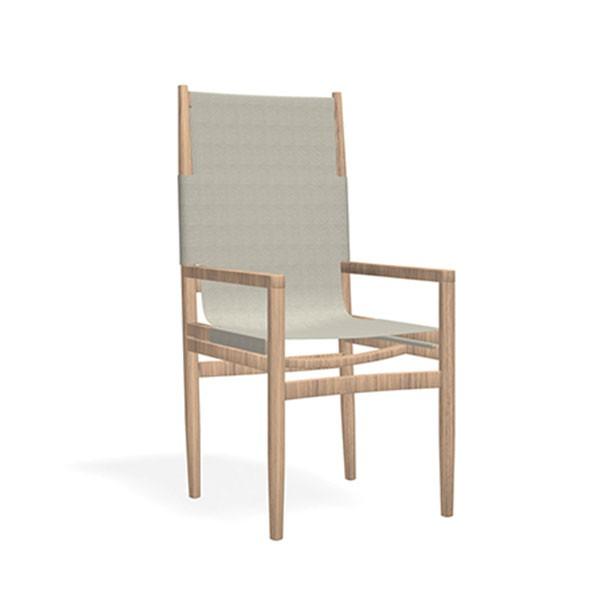 chaise a dossier haut road jardinchic. Black Bedroom Furniture Sets. Home Design Ideas