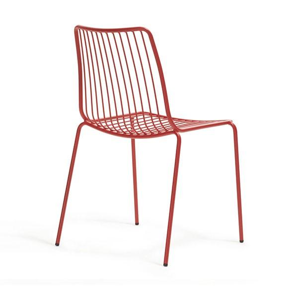 lot de 2 chaises dossier haut nolita jardinchic. Black Bedroom Furniture Sets. Home Design Ideas