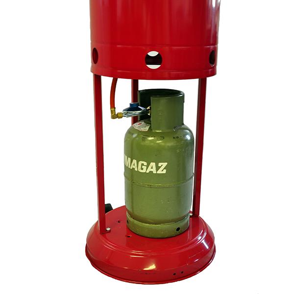 Chauffage d 39 ext rieur gaz m tal peint jardinchic for Chauffage exterieur gaz design