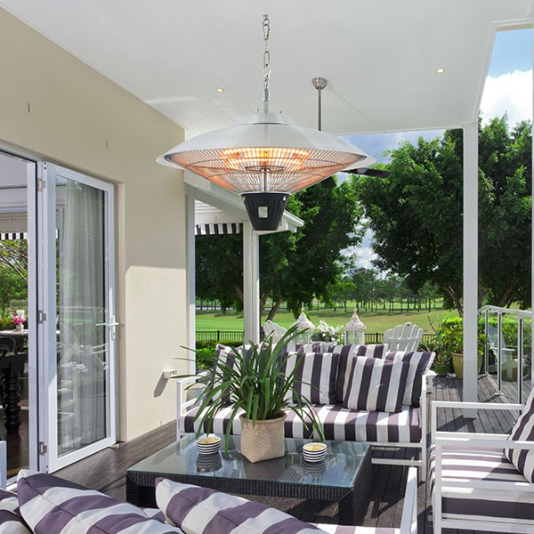 chauffage d 39 ext rieur halog ne suspendu 2100w jardinchic. Black Bedroom Furniture Sets. Home Design Ideas