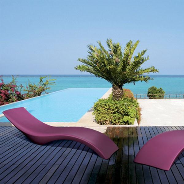 Bain de soleil cloe jardinchic for Transat piscine design