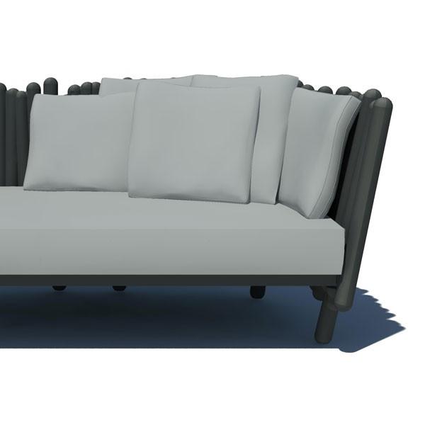 coussin de dossier pour canap et fauteuil canisse. Black Bedroom Furniture Sets. Home Design Ideas
