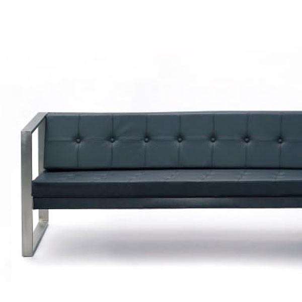 Coussins pour sofa lounge cima matelass cuir synth tique jardinchic - Coussins cuir pour canape ...