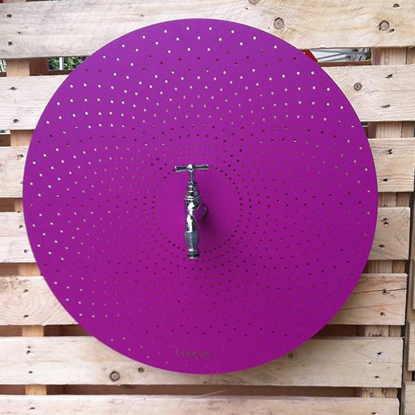 fontaine ronde murale rotundifolia jardinchic. Black Bedroom Furniture Sets. Home Design Ideas