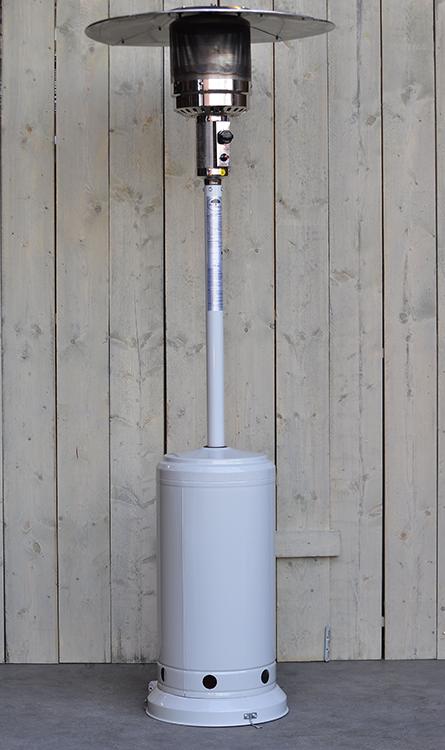 Chauffage d 39 ext rieur gaz m tal peint jardinchic for Chauffage gaz exterieur