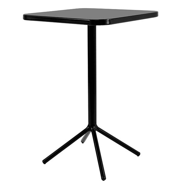 Table de bar carr e grace h105cm jardinchic - Table bar carree ...