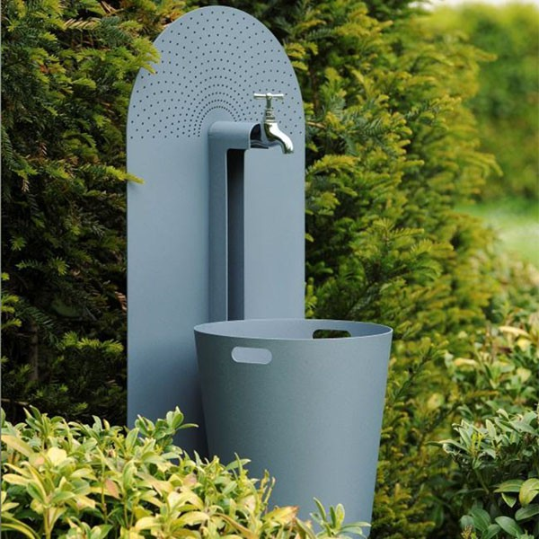 Ensemble grande fontaine myrtifolia h120cm jardinchic for Fontaine jardin exterieur design