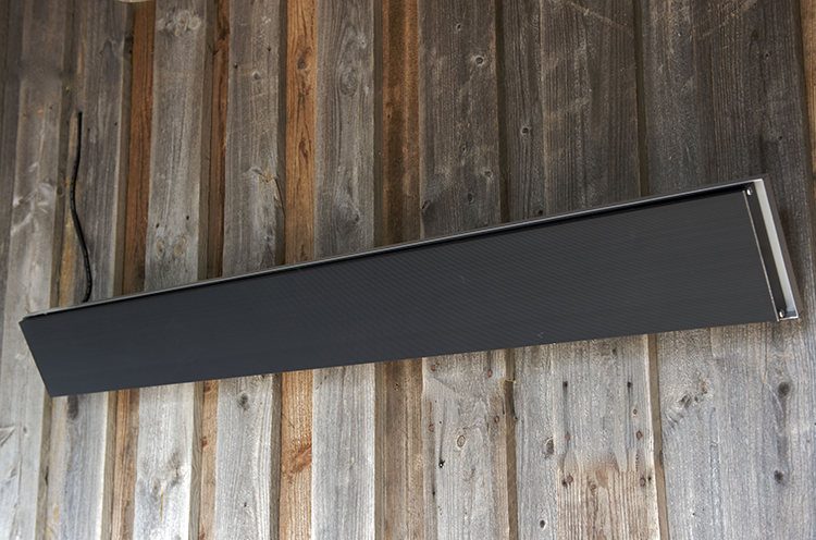chauffage ext rieur radiant heatstrip design jardinchic. Black Bedroom Furniture Sets. Home Design Ideas