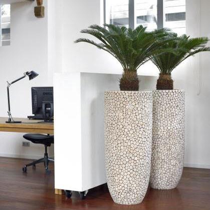 Jardini re d 39 int rieur natural trendy wood jardinchic for Jardiniere interieur