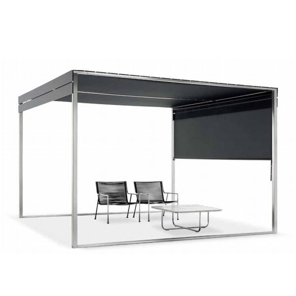 rideau pour pergola coro jardinchic. Black Bedroom Furniture Sets. Home Design Ideas