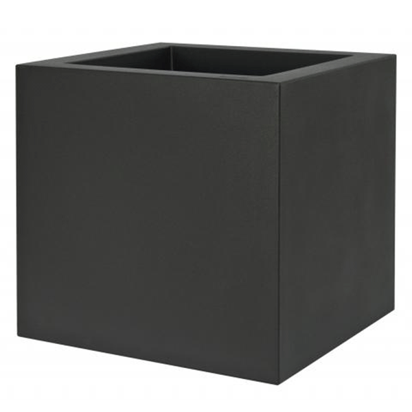 pot carr kube avec r serve d 39 eau jardinchic. Black Bedroom Furniture Sets. Home Design Ideas