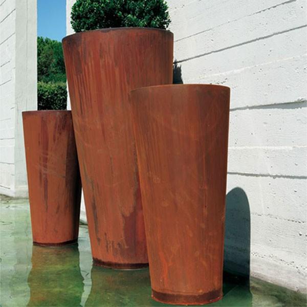 Pot Sky Acier DeCastelli jardinChic