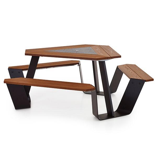 table anker jardinchic. Black Bedroom Furniture Sets. Home Design Ideas
