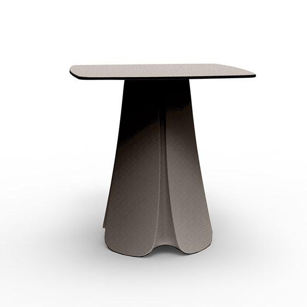 Table de repas plateau hpl pezzettina jardinchic for Table exterieur hpl