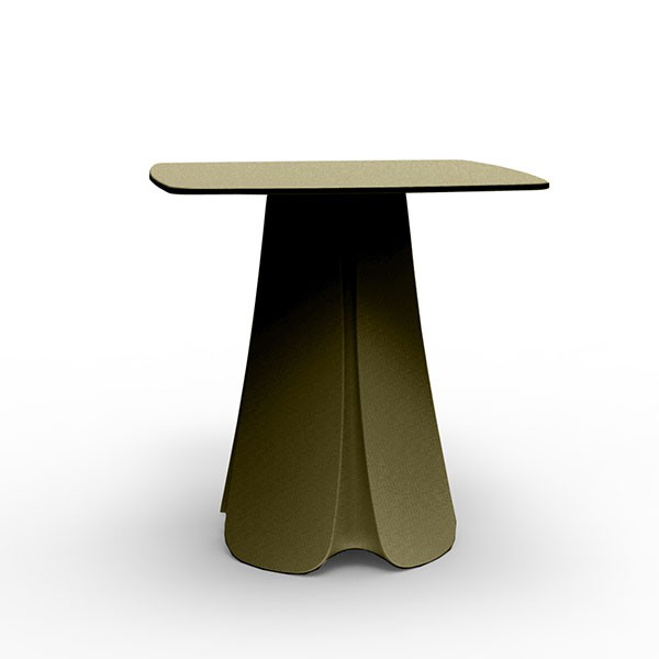 table de repas plateau hpl pezzettina jardinchic. Black Bedroom Furniture Sets. Home Design Ideas