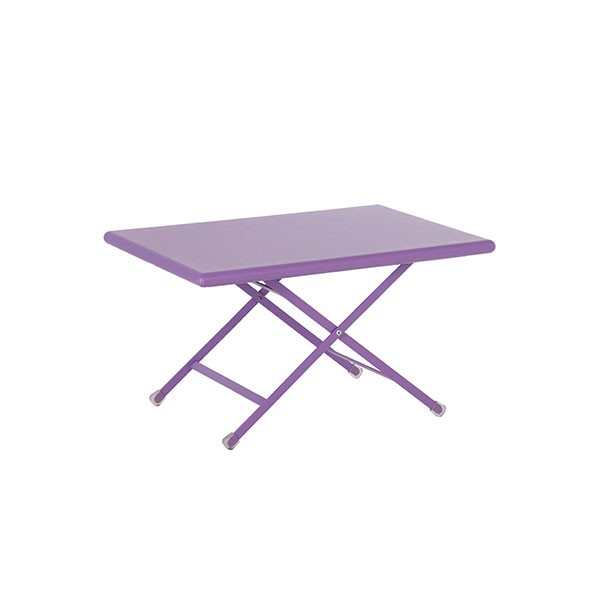 Table basse pliable arc en ciel jardinchic - Table basse pliante but ...