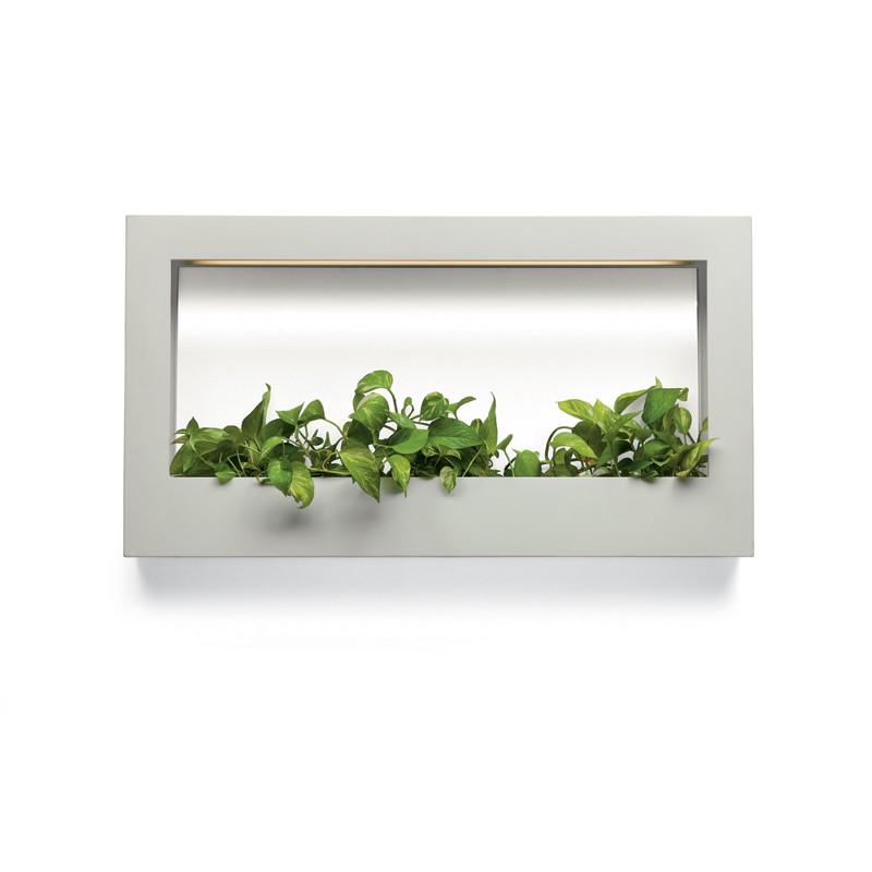 jardini re murale tv lumineuse jardinchic. Black Bedroom Furniture Sets. Home Design Ideas