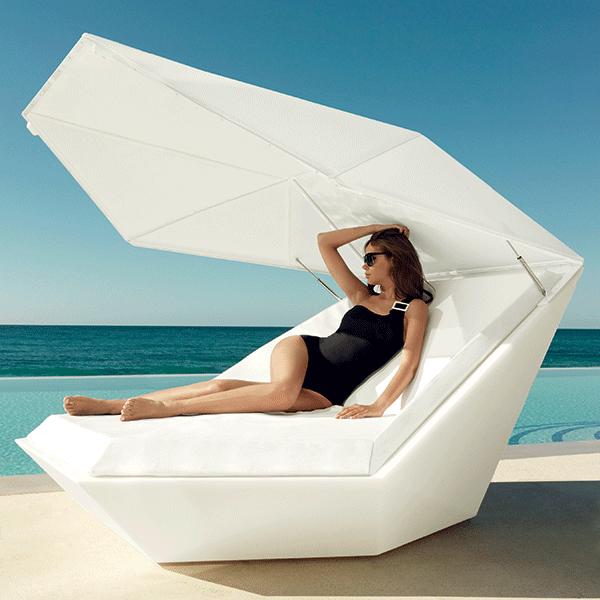 Table rabattable cuisine paris chaise longue avec pare soleil for Chaise longue avec pare soleil