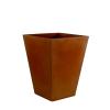 Pot Cône Carré Haut Bronze H52 Vondom Jardinchic