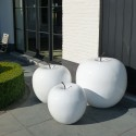 Sculpture Pomme en Polyrésine