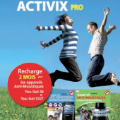Recharge ACTIVIX PRO pour Inaday's