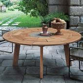 Table De Repas Ronde Brick