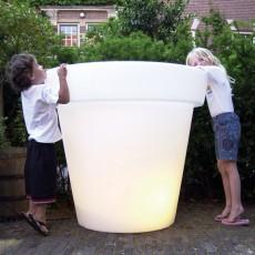 Pot Lumineux Bloom 100 Blanc Bloom! JardinChic