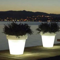 pot lumineux de jardin jardinchic. Black Bedroom Furniture Sets. Home Design Ideas
