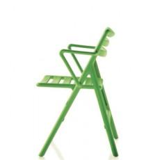 Chaise Pliante Air Chair avec Accoudoirs Vert Magis JardinChic