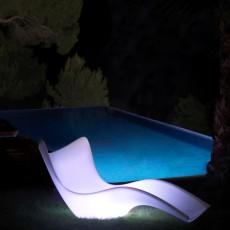 Chaise Longue Surf Lumineuse Vondom JardinChic