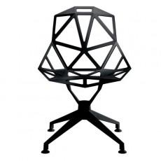 Chaise One 4Star Noir Magis JardinChic