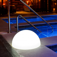 Boule Lumineuse Demi L - Ambiance Piscine Smart and Green Jardinchic