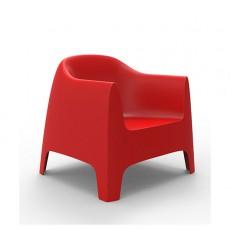 fauteuil-rouge-solid-vondom-jardinchic