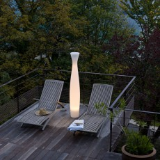 Pot Lumineux Scarlett 180 Light neutre Terrasse Serralunga JardinChic