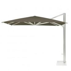 Parasol à Mât Déporté Shade Aluminium/Taupe Emu JardinChic