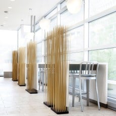 Paravent Sticks Base Rectangulaire L60cm Bois Extremis JardinChic