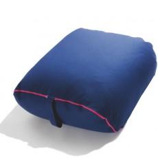 Pouf / Repose Pieds Birba Tissu Bleu Parri JardinChic