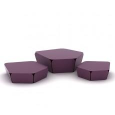 Lot de 3 Petites Rocailles Violettes Miloma JardinChic