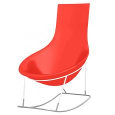 Rocking Chair Tom Yam Bleu Jaune Qui est Paul? JardinChic