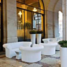 Salon de Jardin Sirchester Canapé + Fauteuil Serralunga JardinChic